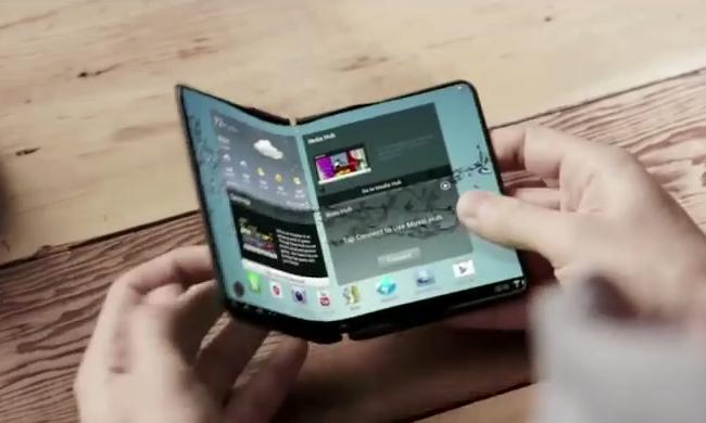 Samsung Flexible Smartphone Prototype