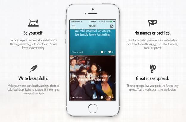 Secret App iPhone