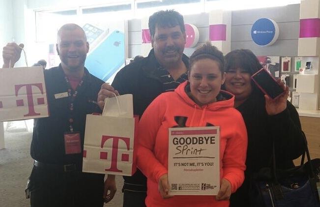 T-Mobile Vs. Sprint Customers