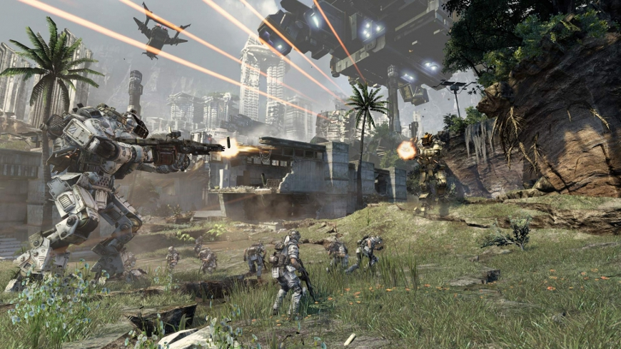 Xbox One Titanfall Resolution