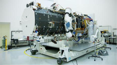 Worldview 2 satellite | Image credit: BBC