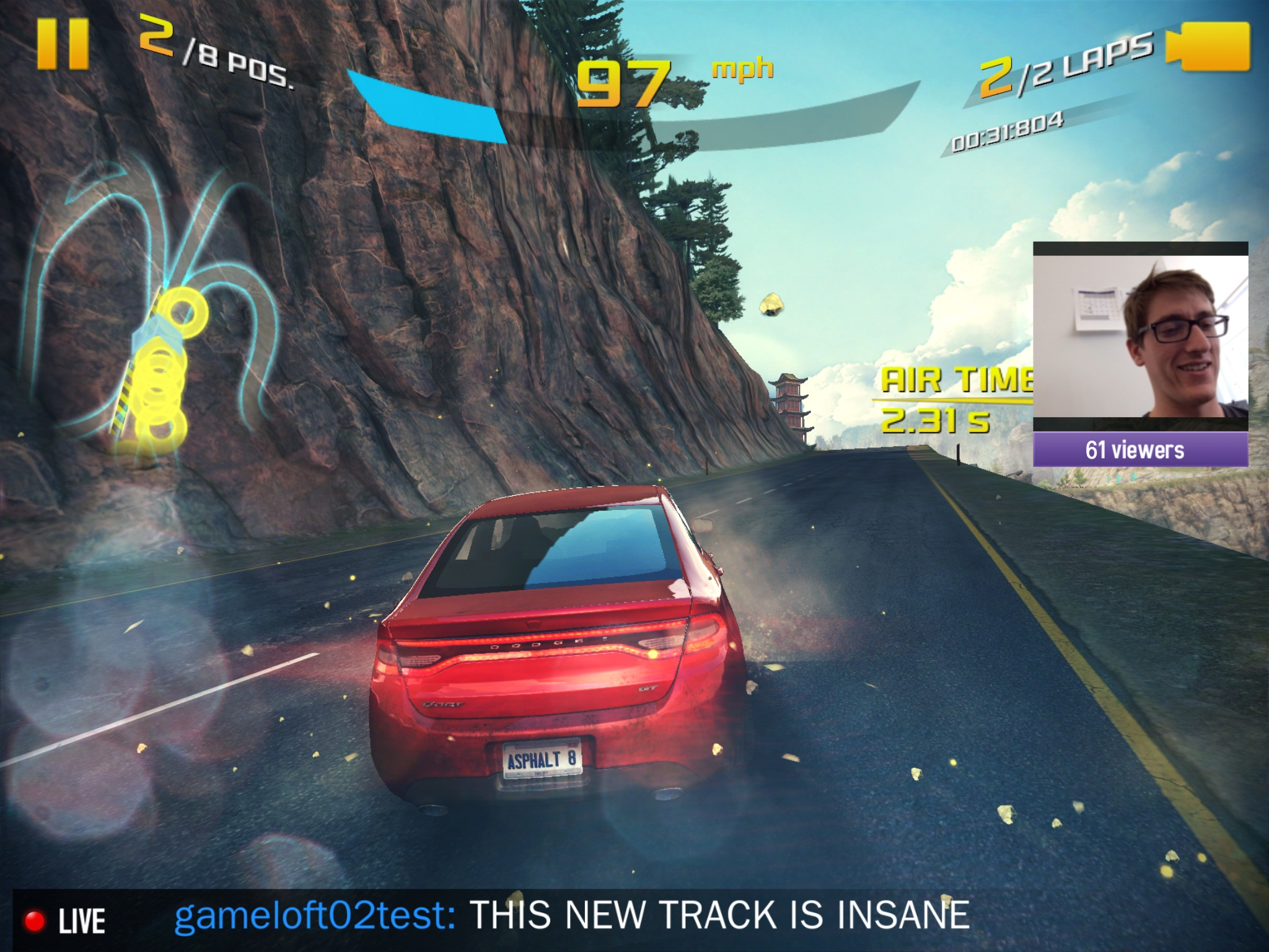 iOS Twitch Game Streaming