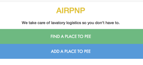 Airpnp Bathroom Rental Mobile App