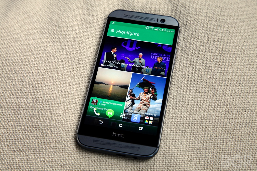 Galaxy S5 vs HTC One (M8) Comparison