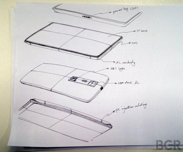 BGR-OnePlus-One-Sketch