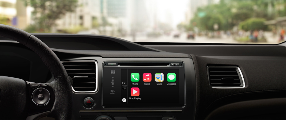 CarPlay iOS in the Car Launch