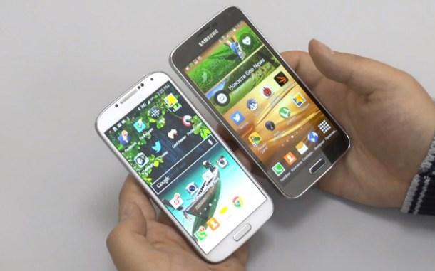 Video: Galaxy Galaxy hands-on comparison