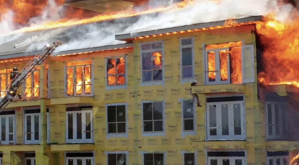 Houston Apartment Fire