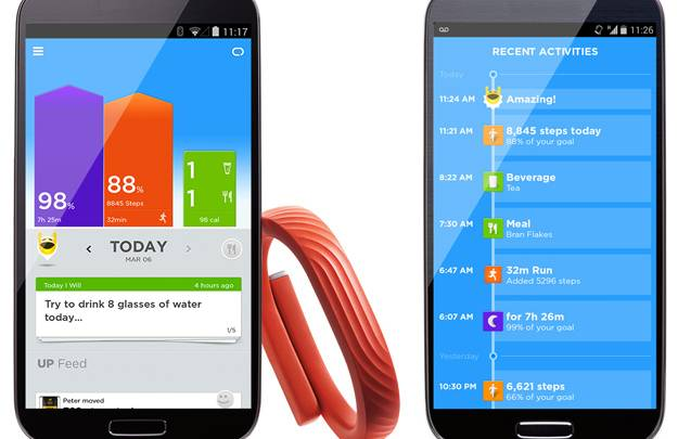 Jawbone UP Android App