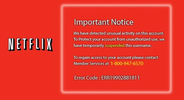 Hot To Avoid Netflix Scam