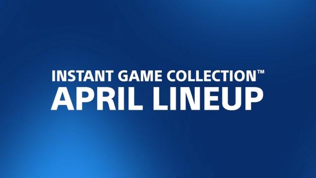 PlayStation Plus Free Games April