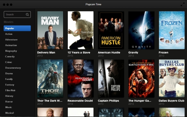 Popcorn Time, 'Netflix pirates,' already