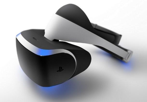 Sony's virtual reality headset will