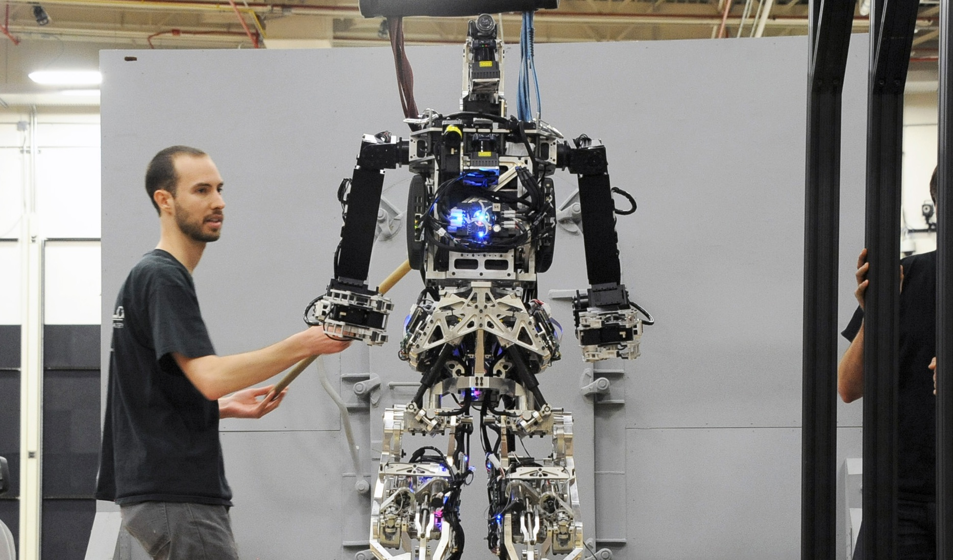 Coolest Robots Ever Saffir Designed To Fight Fires Bgr