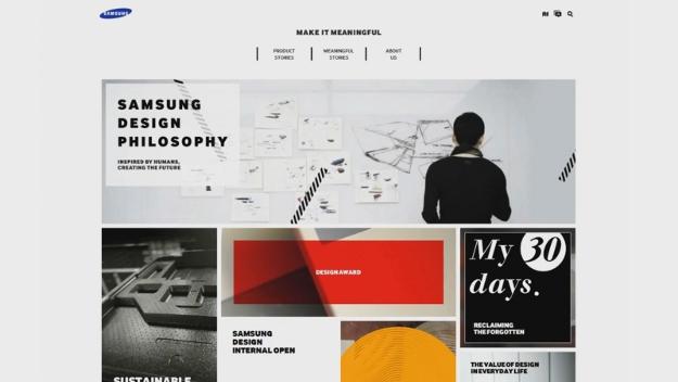 Samsung Concept and Design Site