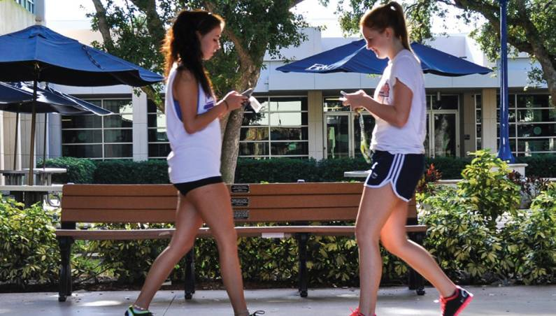 Walking And Texting Dangers