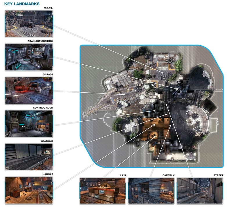 Titanfall Overlook Map