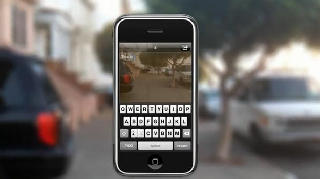 Apple Transparent Texting