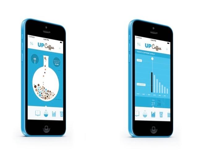 Jawbone Up Coffee iPhone App