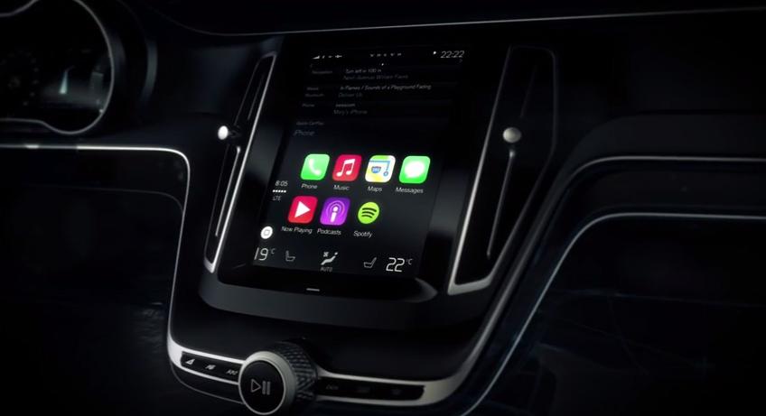 Volvo CarPlay User Interface Demo