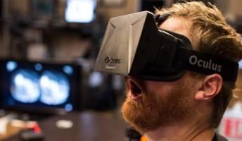 White Guys Wearing Oculus Rift