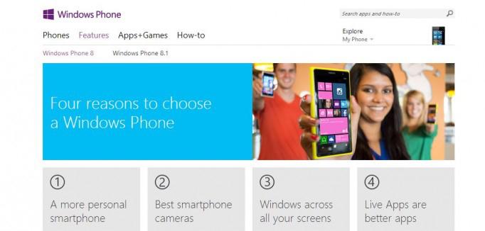 Microsoft Windows Phone 8.1 Features