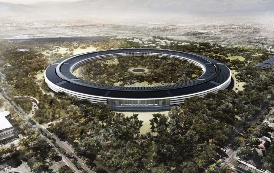 Apple Campus 2 Aerial Tour