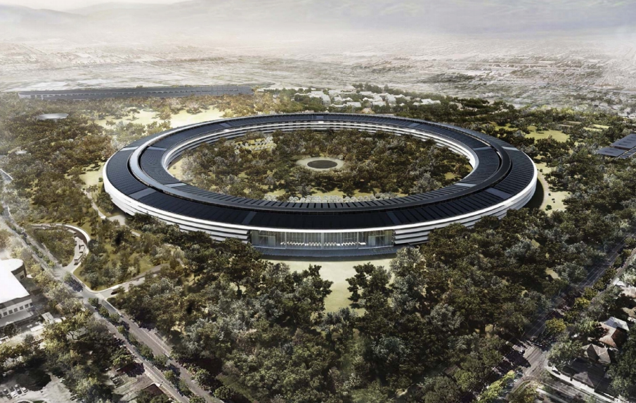 Apple's Spaceship Campus