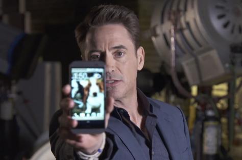 HTC One M8 Promo Robert Downey Jr.