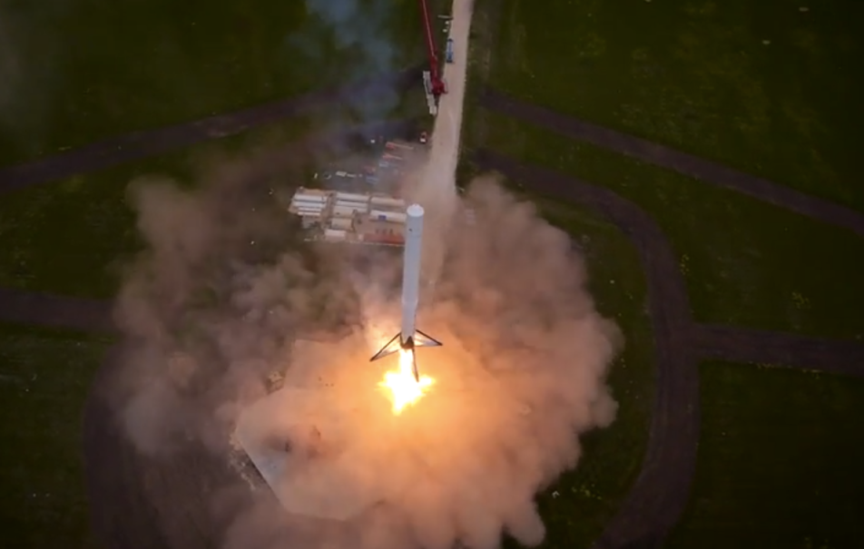 Elon Musk SpaceX Reusable Rocket Video