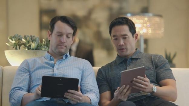 Samsung Galaxy Pro Ads