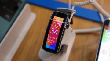 Samsung Gear Fit Vertical Orientation