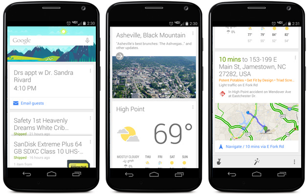 Google Search and Apps on Android