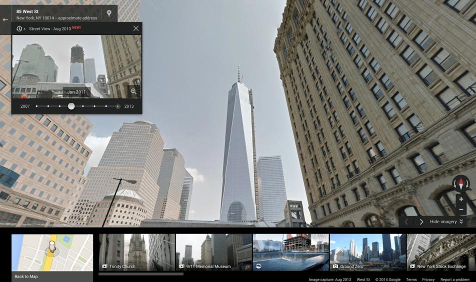 Google Maps Street View 4D