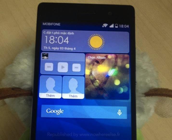 Huawei Ascend P7 Photos Leak