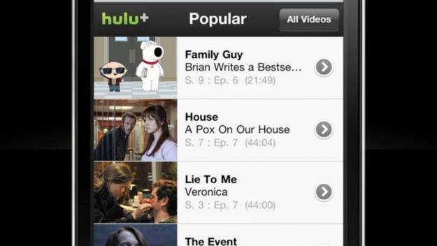 Hulu Free Mobile Streaming