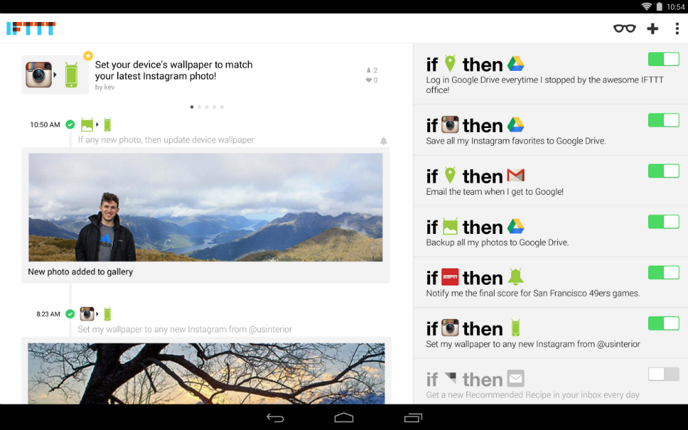 IFTTT for Android Official Download