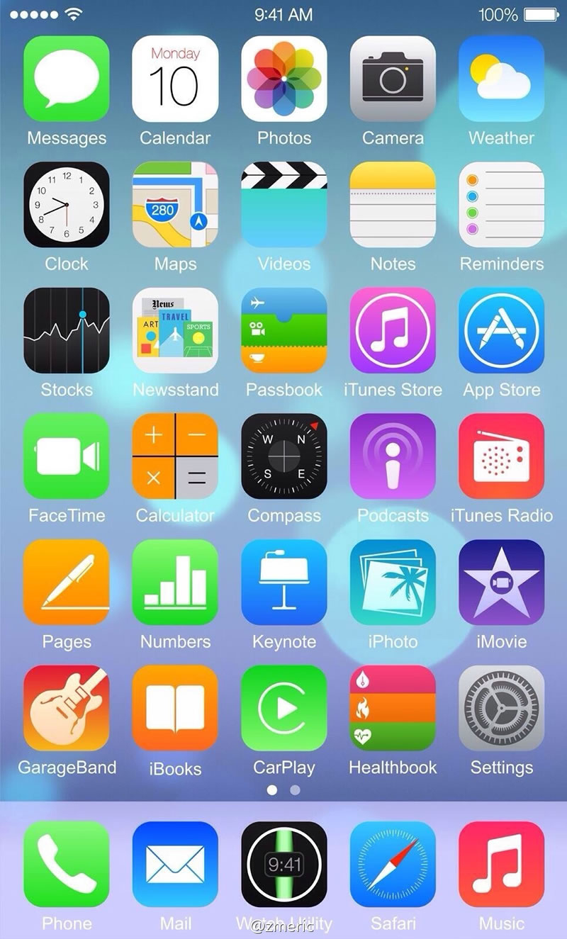 Does This Leaked Image Show IOS 8 On The IPhone 6 BGR