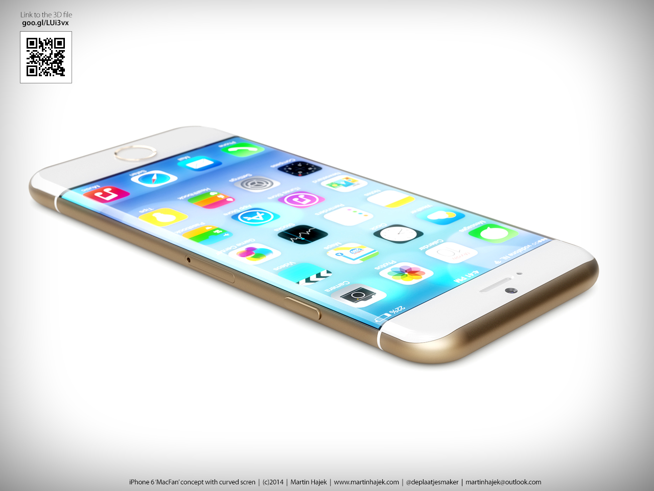 iphone 6 rumors photos of iphone 6 with curved display. Black Bedroom Furniture Sets. Home Design Ideas