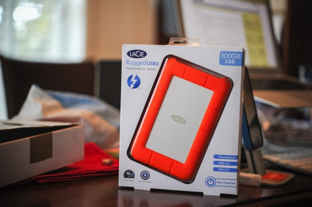 LaCie Rugged External SSD