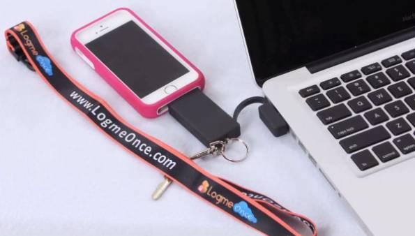 LogmeOnce USB Stick Kickstarter