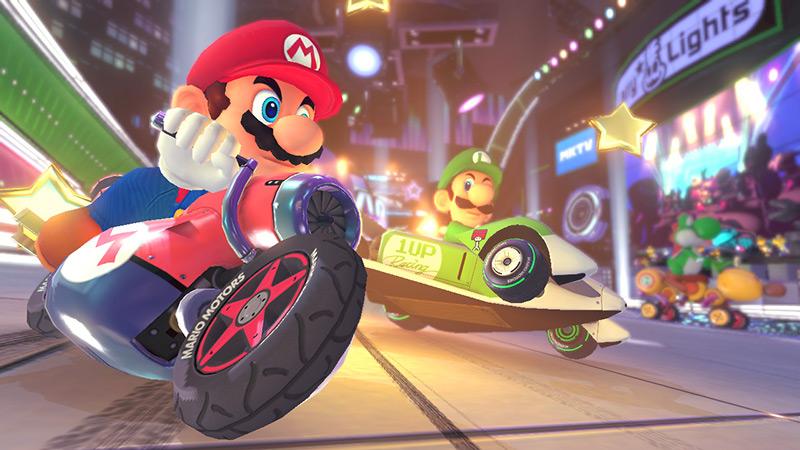 Mario Kart 8 Trailer Wii U
