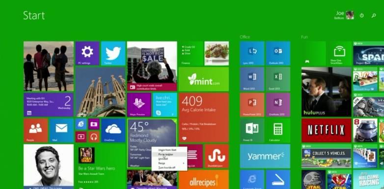 Windows 8.1 Update Details