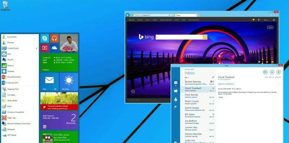Microsoft Windows 8 Start Menu