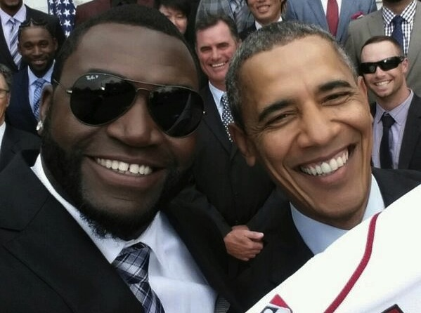 Obama Big Papi Selfie