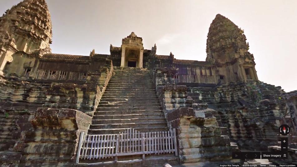Google Street View Angkor Wat
