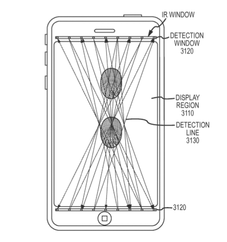 apple ftir touchscreen patent
