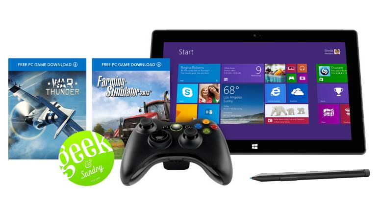 Microsoft Surface Pro 2 Xbox Geek Bundle