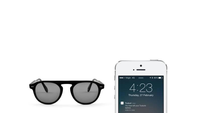 iBeacon sunglasses Tzukuri use Bluetooth Low Energy