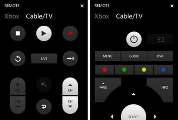 Xbox SmartGlass Update Universal Remote